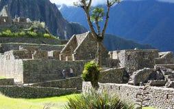 Ruinas de Machu Picchu Imágenes de archivo libres de regalías