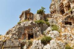 Ruinas de Mira - una foto 2 Fotografía de archivo