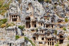Ruinas de Mira - una foto 1 Imágenes de archivo libres de regalías