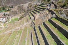 Ruinas de Ollantaytambo fotografía de archivo