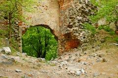 Ruinas de Pajstun Imágenes de archivo libres de regalías