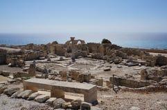 Ruinas de Paphos Fotografía de archivo libre de regalías