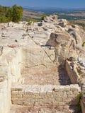 Ruinas de Perperikon Imagen de archivo