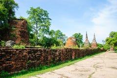Ruinas de Phra Sri Sanphet Foto de archivo