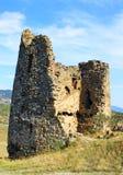 Ruinas de poca capilla cerca de la iglesia de Jvari Imagen de archivo libre de regalías