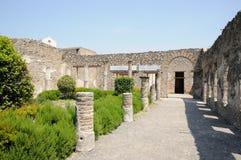Ruinas de Pompeii Imagen de archivo libre de regalías