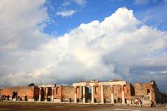 Ruinas de Pompeya Fotografía de archivo