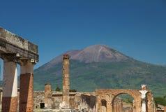 Ruinas de Pompeya en Italia Foto de archivo libre de regalías