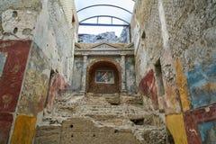 Ruinas de Pompeya, Italia Foto de archivo