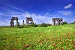 Ruinas de Roma antigua en Italia Fotos de archivo