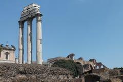 Ruinas de Romman Fotos de archivo libres de regalías