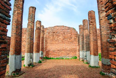 Ruinas de Sala Chom Thong Imágenes de archivo libres de regalías