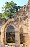 Ruinas de Santa Maria di Cartignano, Central-Italia Imagen de archivo libre de regalías