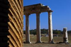 Ruinas de Sardis en Manisa Turquía imagen de archivo