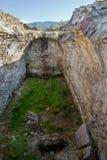 Ruinas de Sarmisegetuza Imagenes de archivo