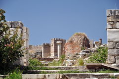 Ruinas de Selcuk Fotos de archivo
