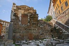Ruinas de Teatro di Marcelo, Roma Fotos de archivo libres de regalías