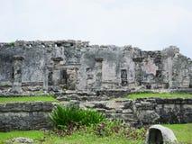Ruinas de Tulum Foto de archivo libre de regalías