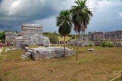 Ruinas de Tulum Fotografía de archivo