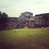 Ruinas de Tulum fotos de archivo libres de regalías
