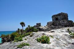 Ruinas de Tulum Imágenes de archivo libres de regalías