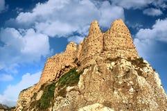 Ruinas de Tushpa, reino de Urartu con Van Fortress imagenes de archivo