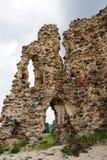 Ruinas de un castillo Imágenes de archivo libres de regalías