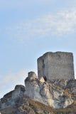 Ruinas de un castillo Imagenes de archivo