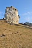 Ruinas de un castillo Foto de archivo libre de regalías