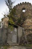 Ruinas de un castillo viejo en Georgia Fotografía de archivo libre de regalías