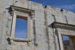 Ruinas de un edificio antiguo Imágenes de archivo libres de regalías