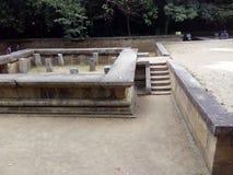 Ruinas de un palacio antiguo en Sri Lanka foto de archivo