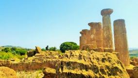 Ruinas de un templo Foto de archivo libre de regalías