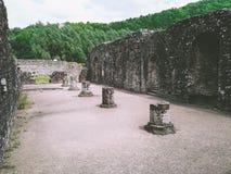 Ruinas de una abadía Imagen de archivo