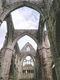 Ruinas de una abadía Fotografía de archivo libre de regalías