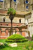 Ruinas de una abadía vieja en Toscana Imagen de archivo