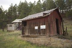 Ruinas de una granja Foto de archivo libre de regalías