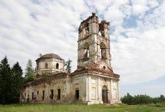 Ruinas de una iglesia Fotografía de archivo libre de regalías