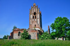 Ruinas de una iglesia gótica Fotografía de archivo