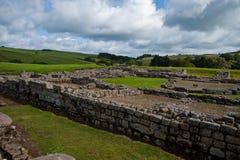 Ruinas de Vindolanda fotografía de archivo