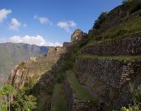 Ruinas de Wayna Picchu Fotos de archivo libres de regalías