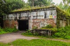 Ruinas de Wolfsschanze Fotos de archivo libres de regalías