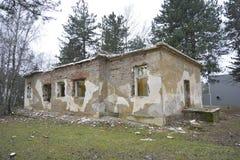 Ruinas del almacén viejo Imágenes de archivo libres de regalías