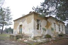Ruinas del almacén viejo Fotos de archivo libres de regalías