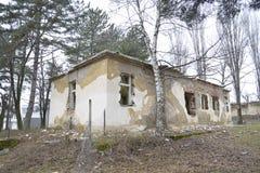 Ruinas del almacén viejo Imagen de archivo libre de regalías