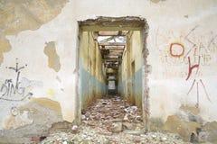 Ruinas del almacén viejo Foto de archivo
