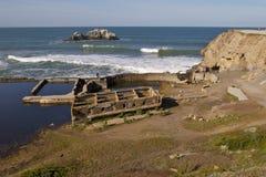 Ruinas del baño de la casa del acantilado Foto de archivo libre de regalías