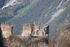 Ruinas del castillo Foto de archivo