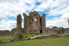 Ruinas del castillo de Crom Fotografía de archivo libre de regalías