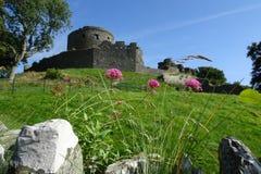 Ruinas del castillo de Dundrum Fotografía de archivo
